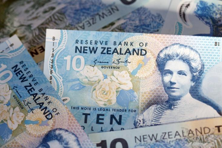 fx news closeup shot of new Zealand dollar – finance brokerage