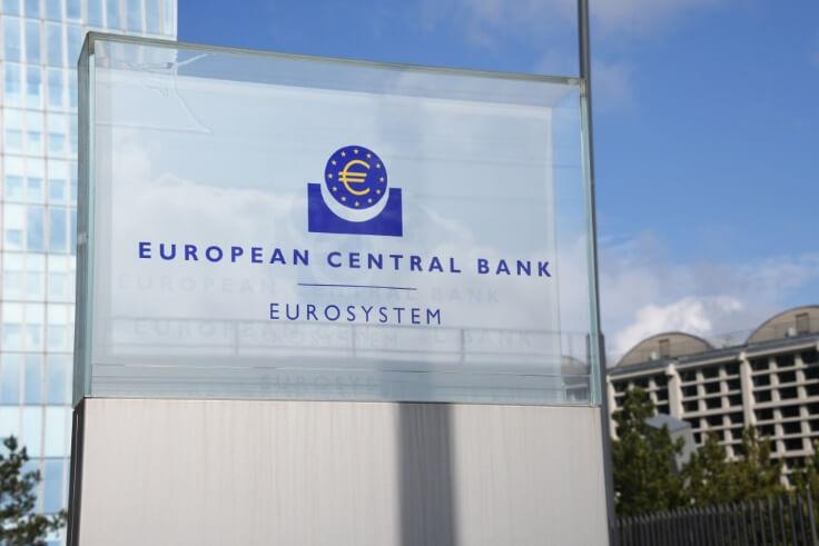 fx news – European central bank on plaque – finance brokerage