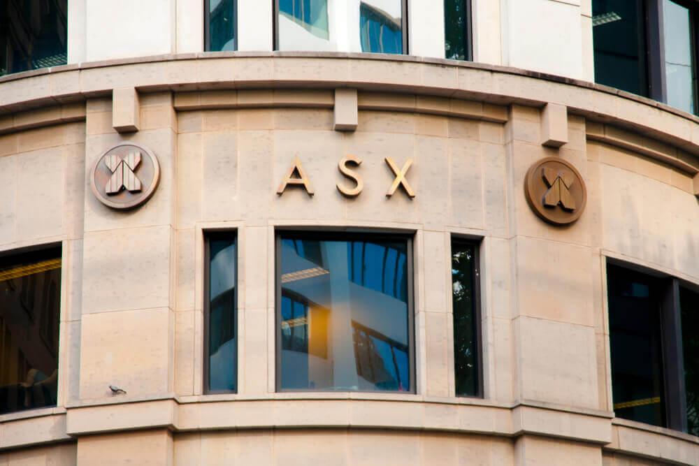 Finance Brokerage – Australian Stock Exchange: Financial headquarters Australian Securities Exchange building.