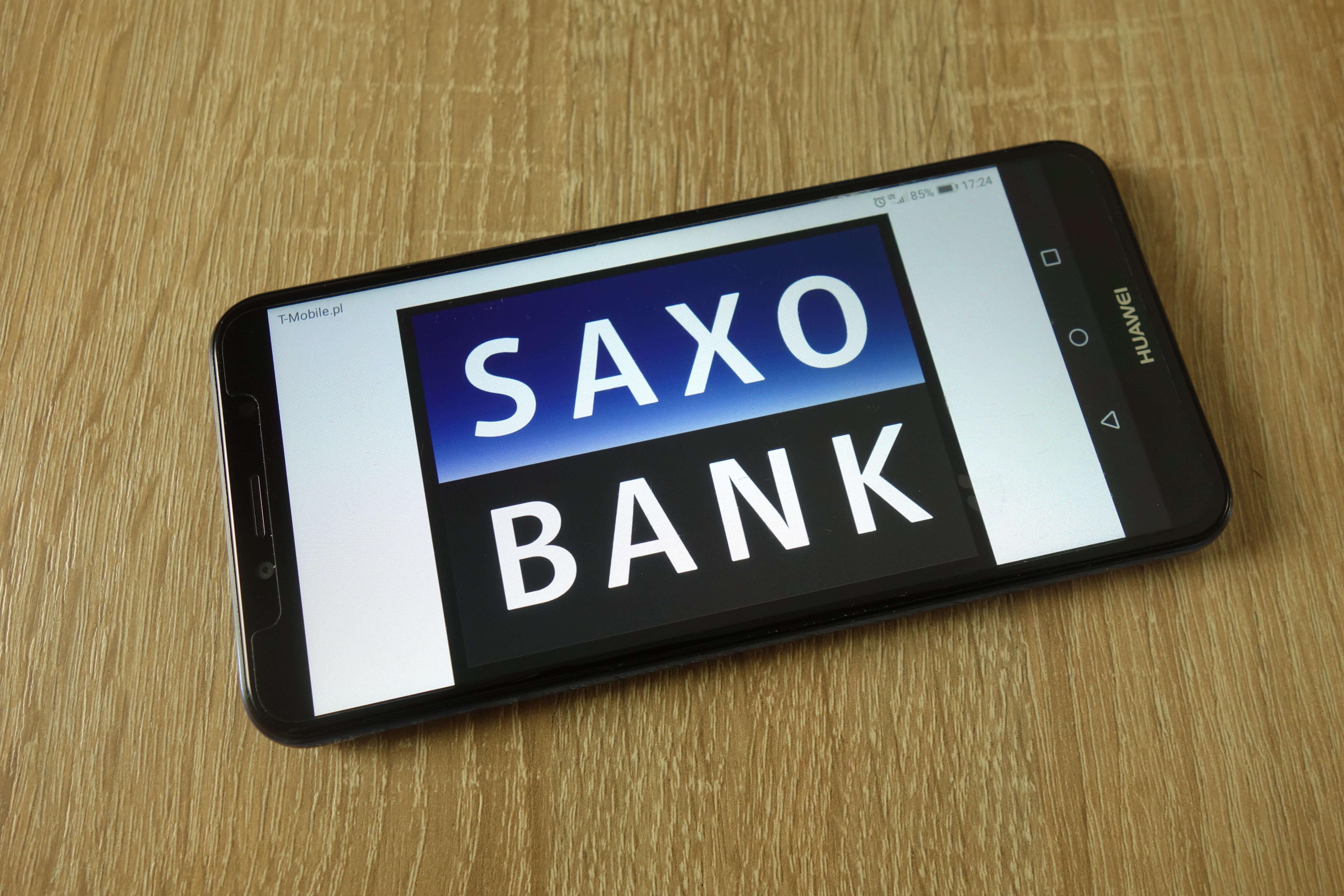 Saxo Bank and its financial results