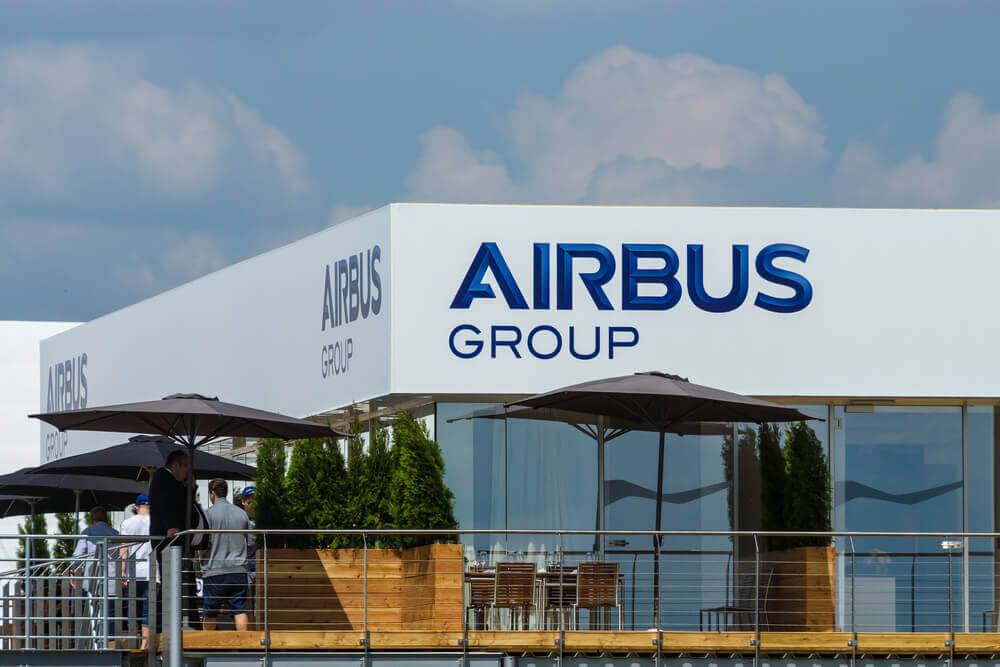 Cyber-attacks: Office Airbus Group.