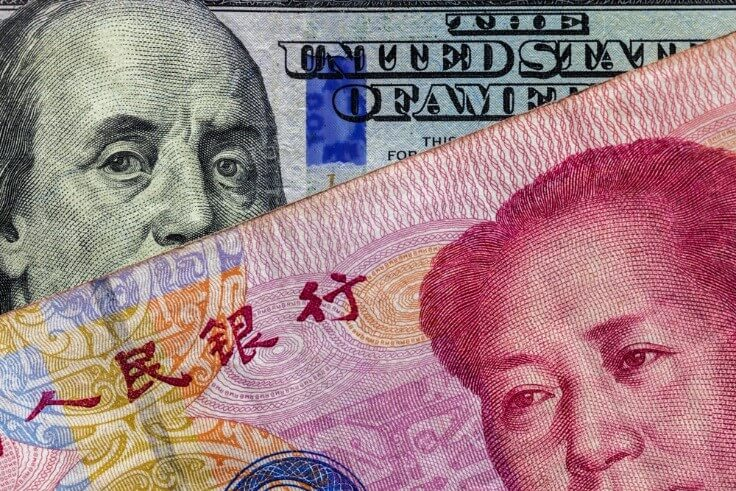 Dollar and yuan currency deal concept – FinanceBrokerage