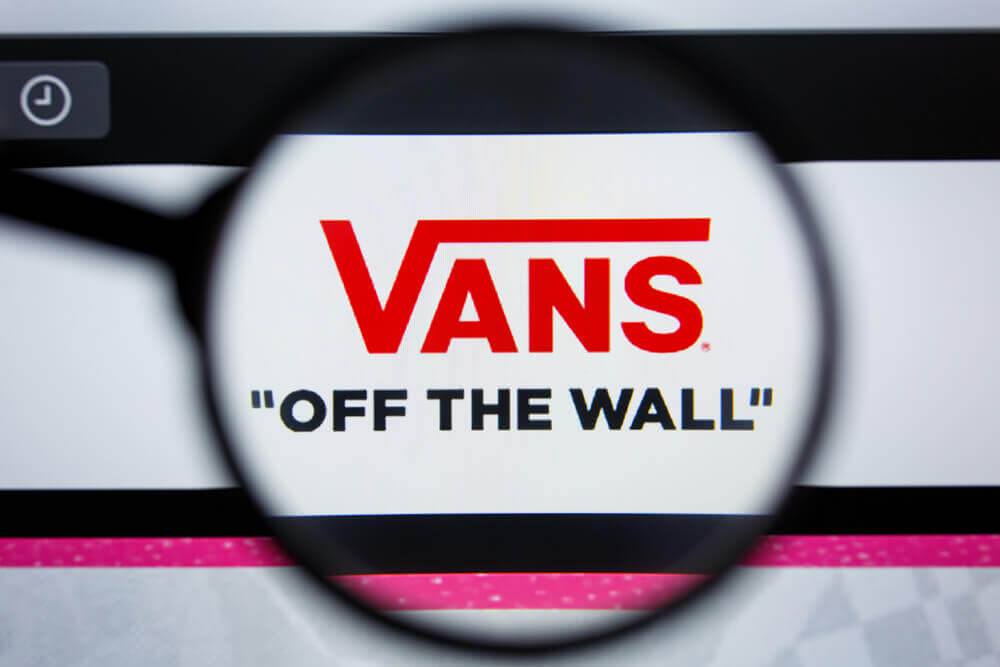 The picture represents the brand of Vans.