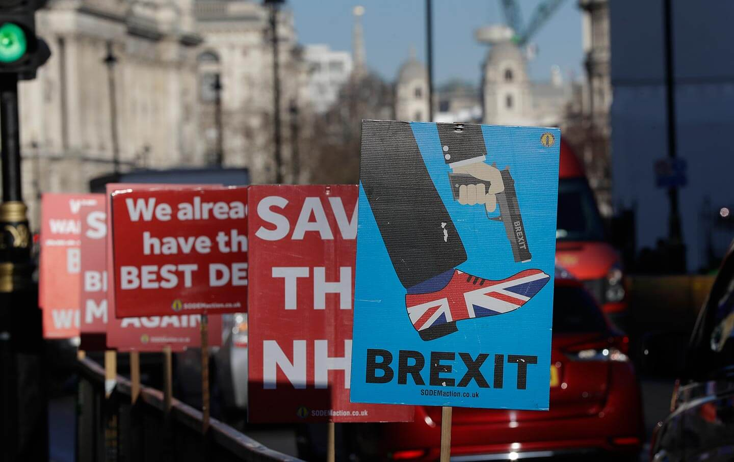 protests agains brexit