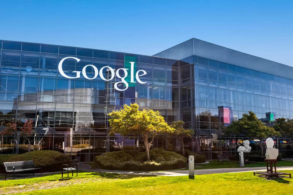 fachada da google em predio