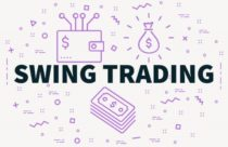 : The picture demonstrates a conceptual business picture with the words swing trading – Finance Brokerage