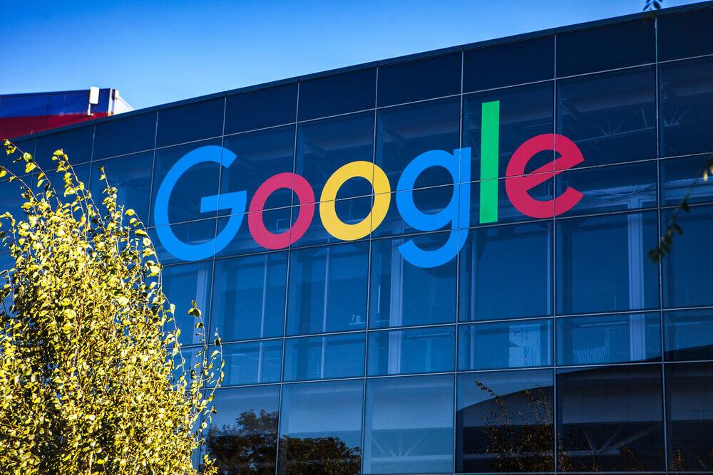Exterior view of Google plex.