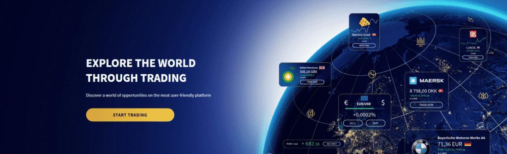 explore the world through trading