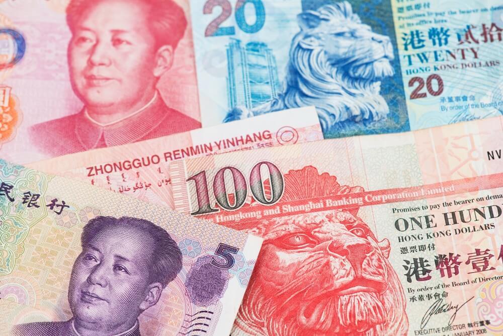 Hong Kong dollar money