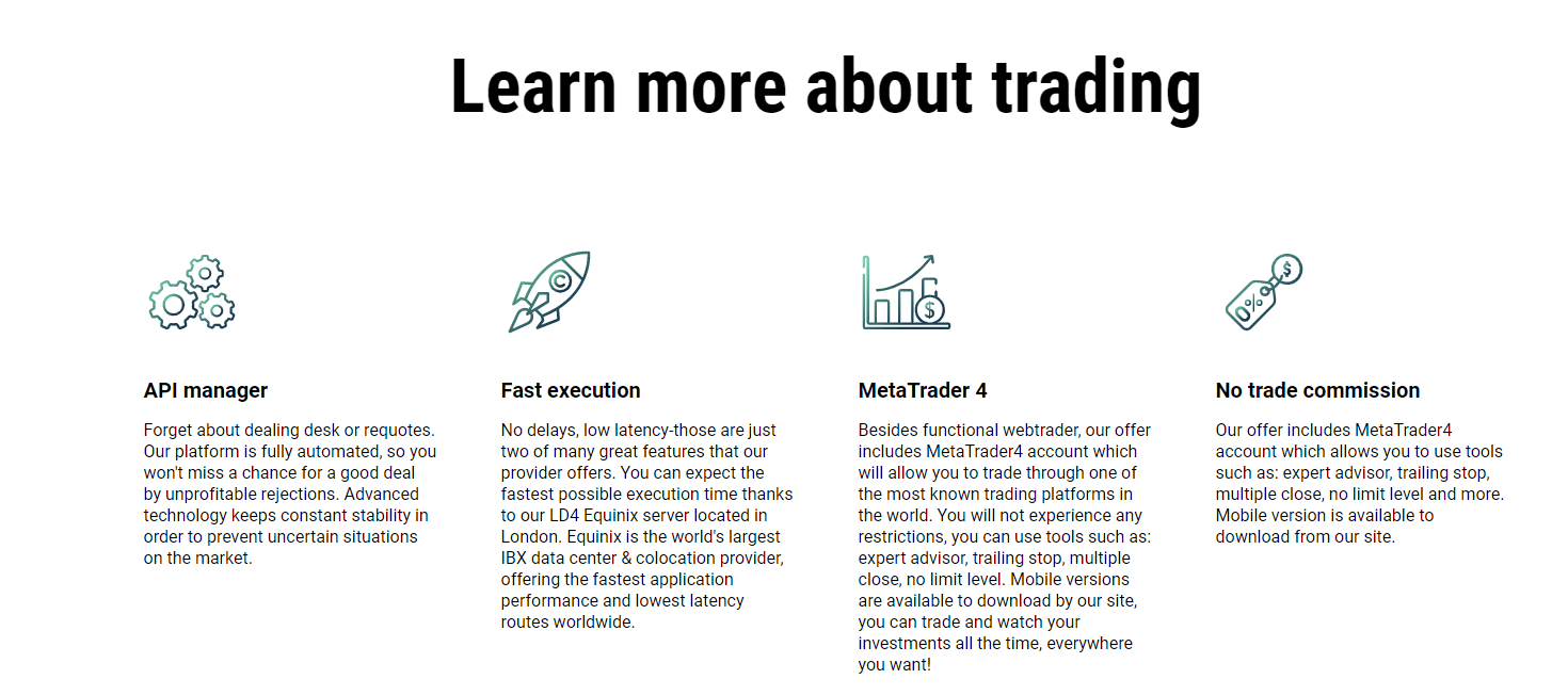 trading platform: learn about trading
