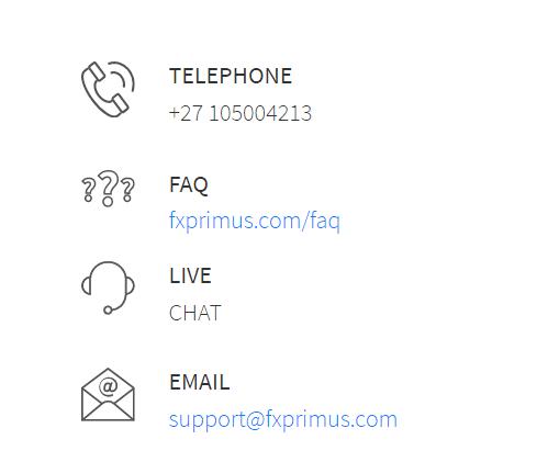 FXPRIMUS contact