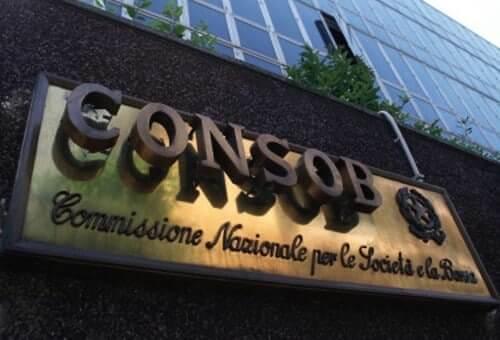Italy's CONSOB Headquarters in Milan, Italy.