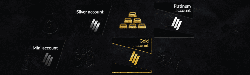INVCenter's account specifications