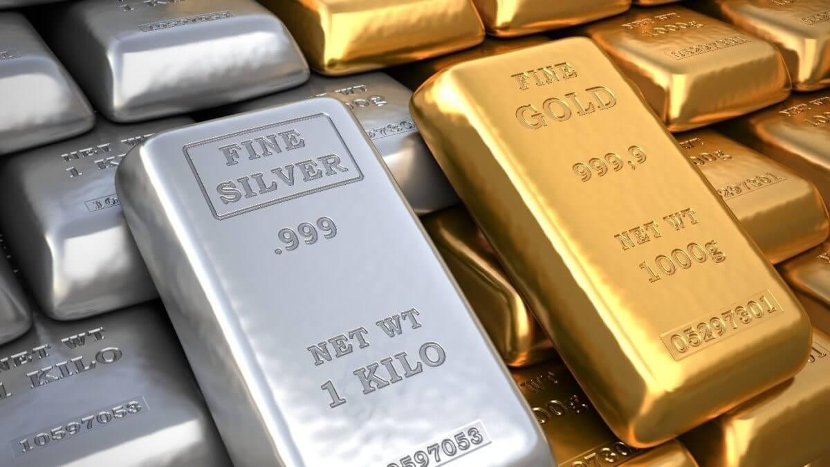 Rendimentos dos títulos sobem uro e prata caem