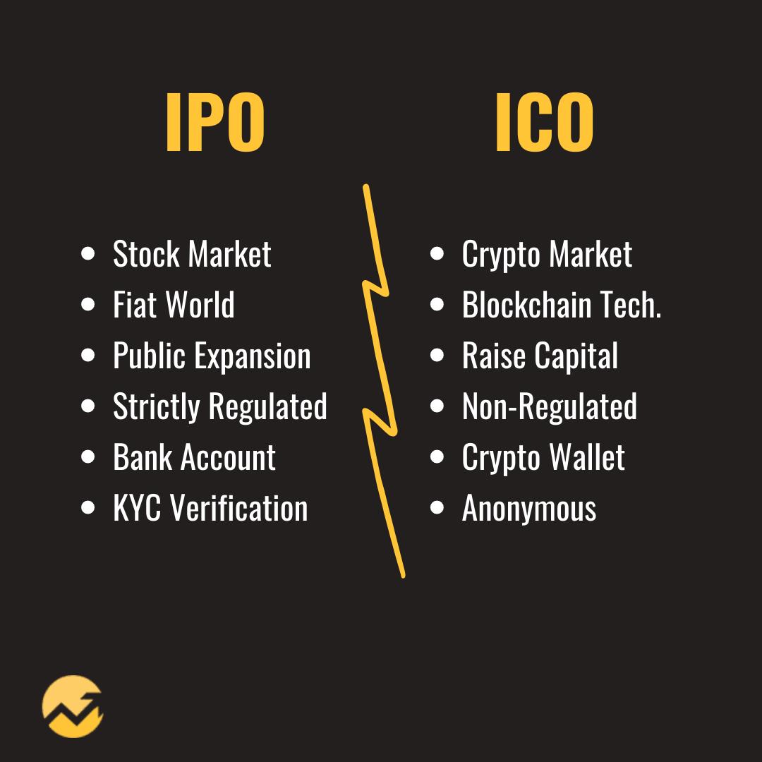 IPO and ICO comaprison