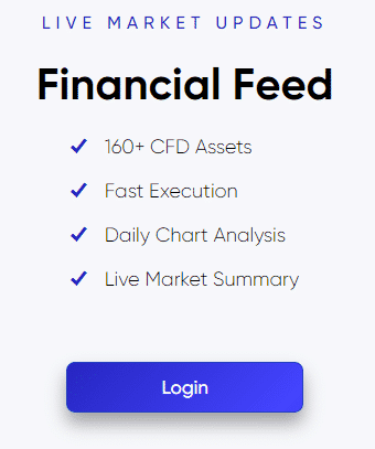 live markets updates financial feed