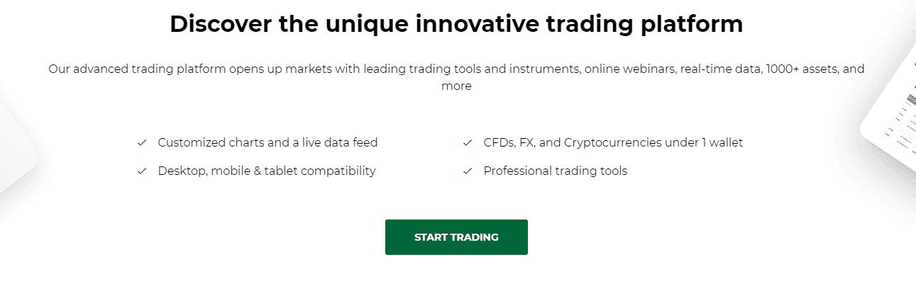 Discover the unique innovative platform
