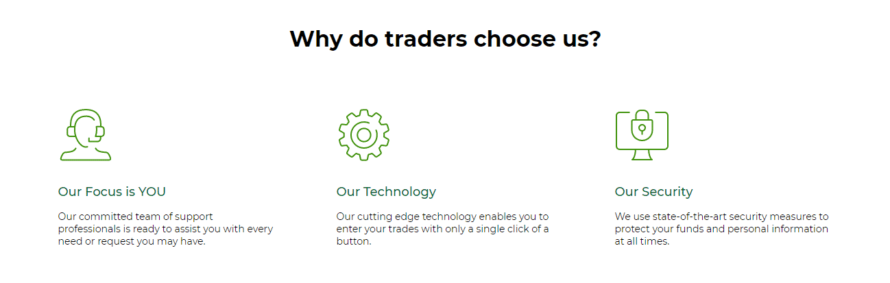 Funds Trading and security: Why traders choose us?