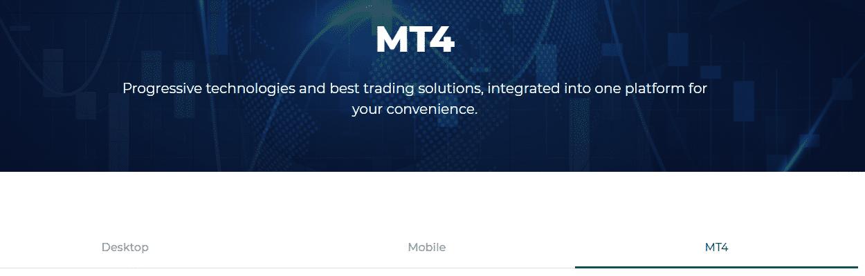 Trading platform: MT4