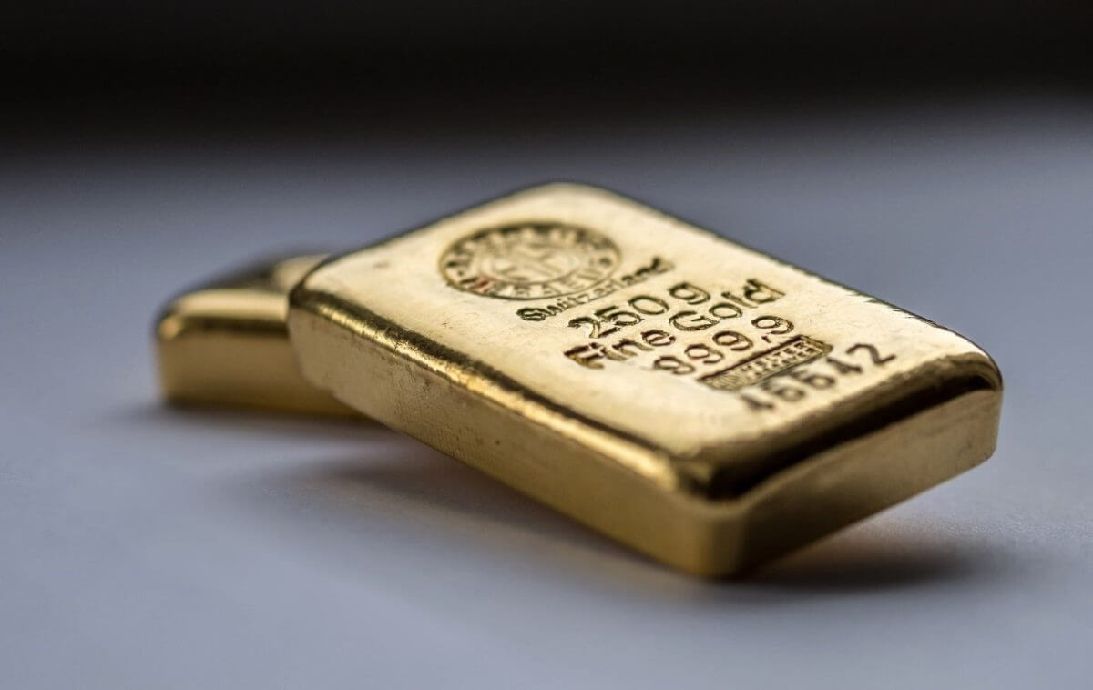 Gold traded near a three-month high