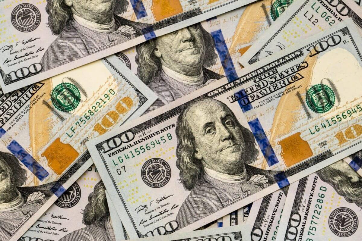 notas de dolar
