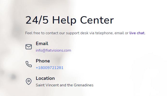 FiatVisions help center
