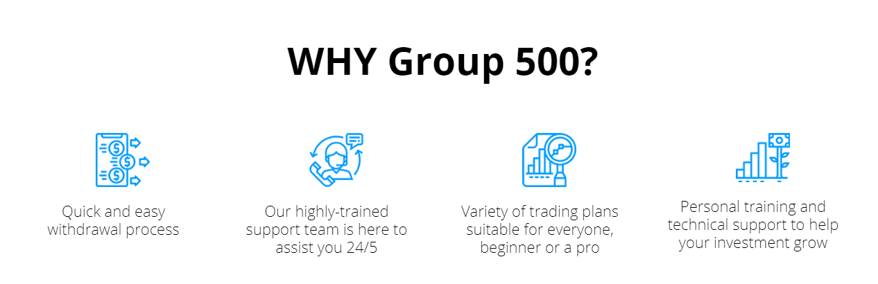 Why Group 500?