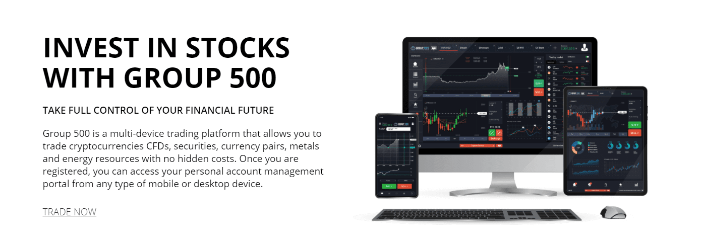 Invest in stocks with Group 500