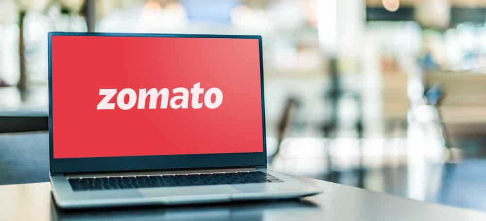 Indian food delivery Zomato shares jump over 70%