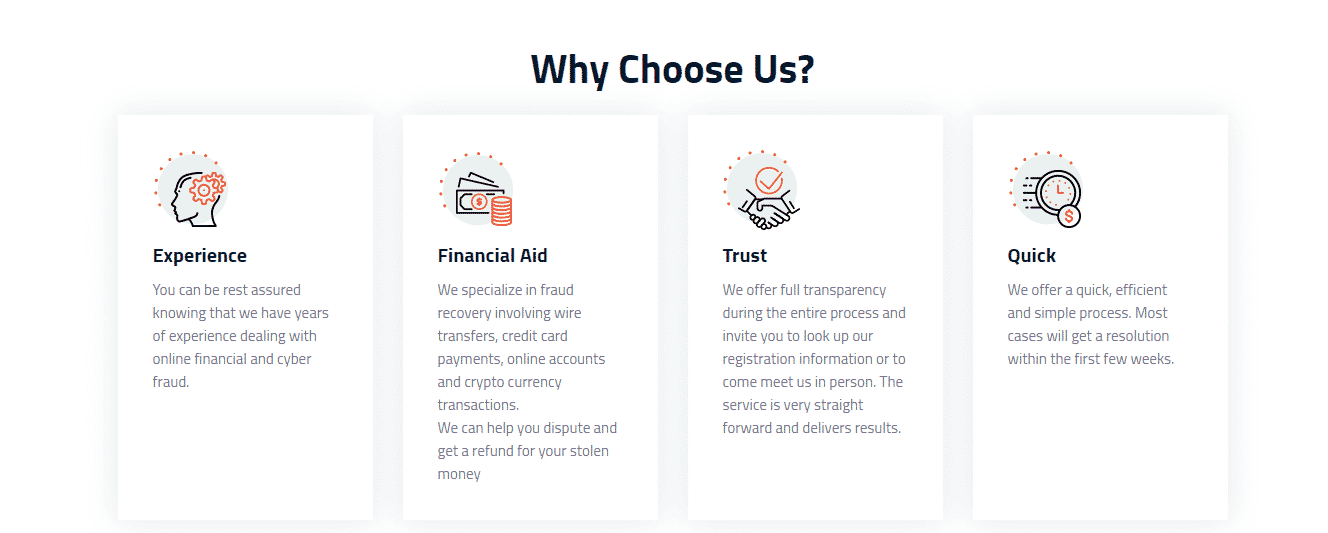 Funds Recovery review: Why chose us?