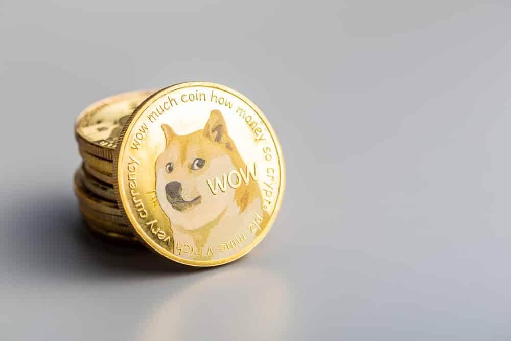 moeda de dogecoin