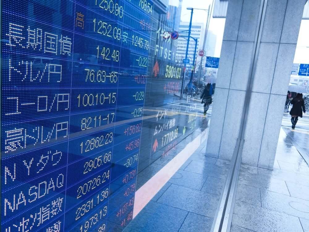 Stocks in Asia-Pacific
