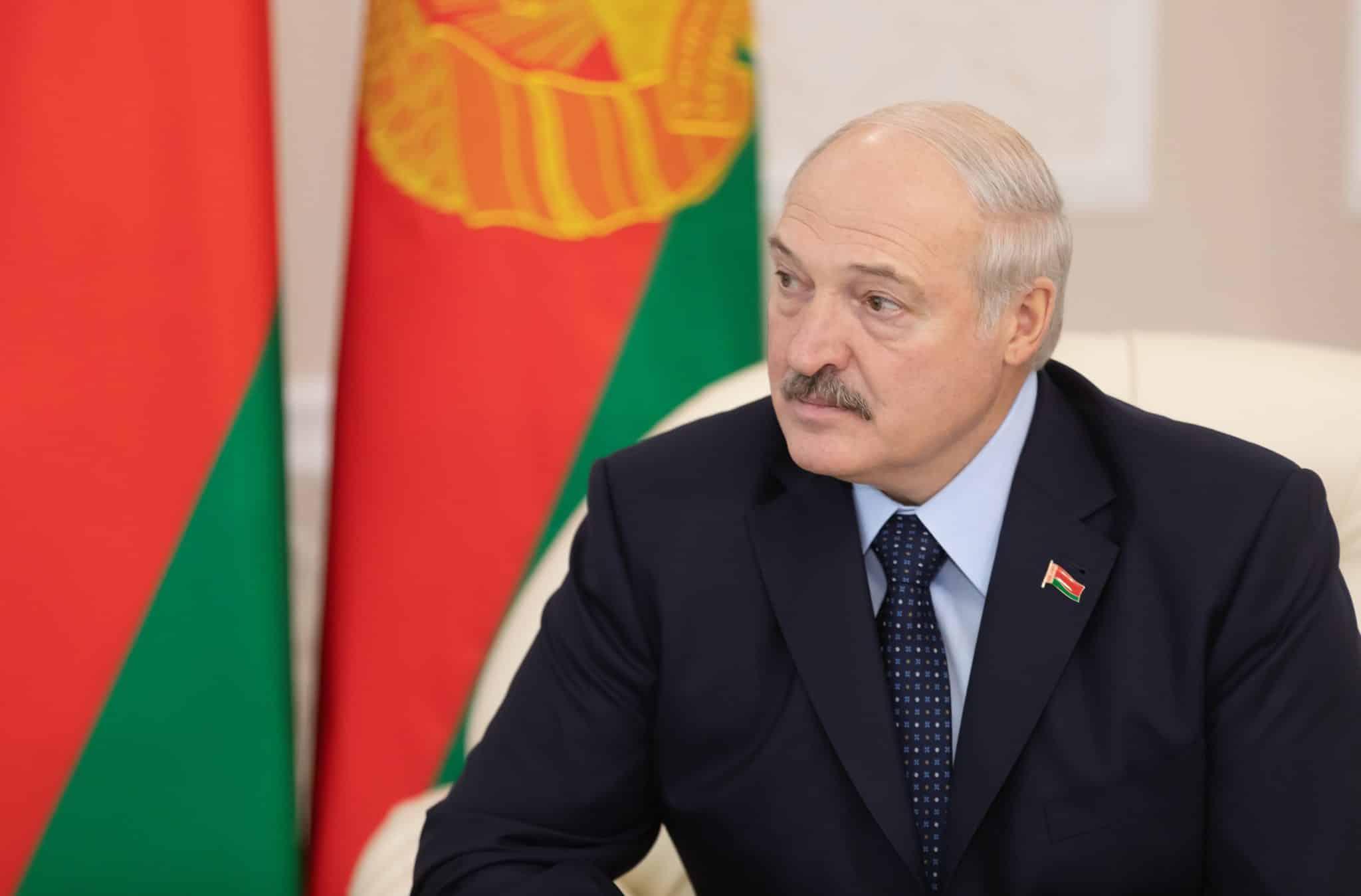 imagem do Presidente Alexander Lukashenko