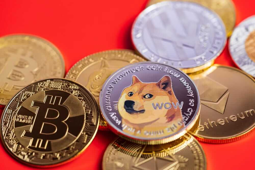 Bitcoin, Ethereum, Dogecoin and positive movements today