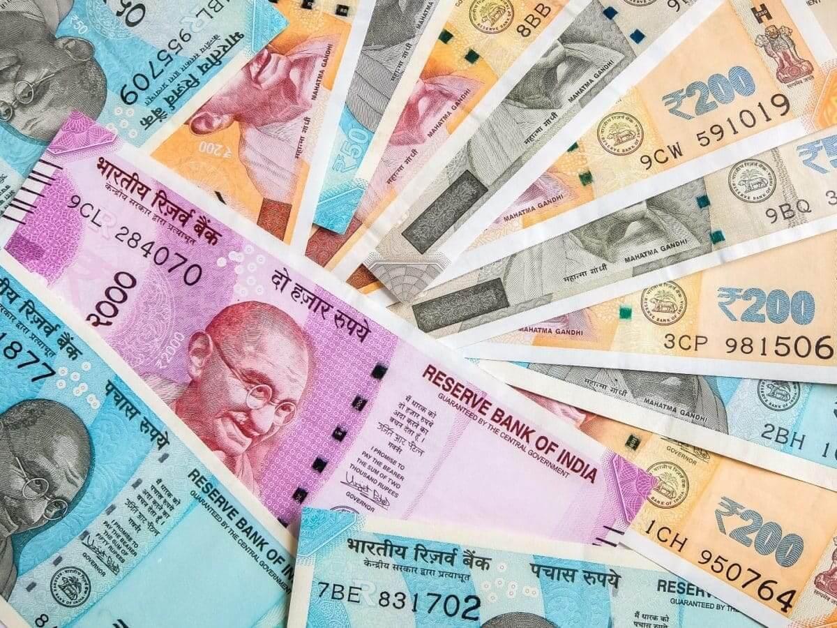 notas de rupia
